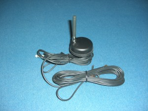 Roof Mount Mini Whip GMS + GPS Antenna